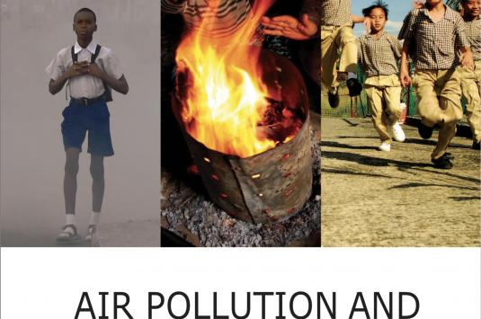 Air pollution and child health: prescribing clean air