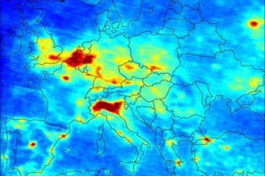 Luchtvervuiling is het grootste klimaat gezondheidsrisico in Europa